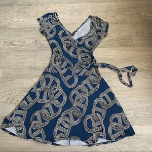 FEMME Skater Dress with Accentuated Waist